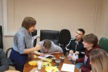 Встреча выпускников детских домов.